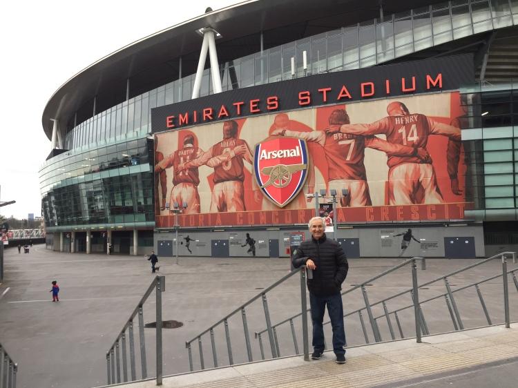 Emirates Stadium, Londres | Mi blog de aventuras | 2017