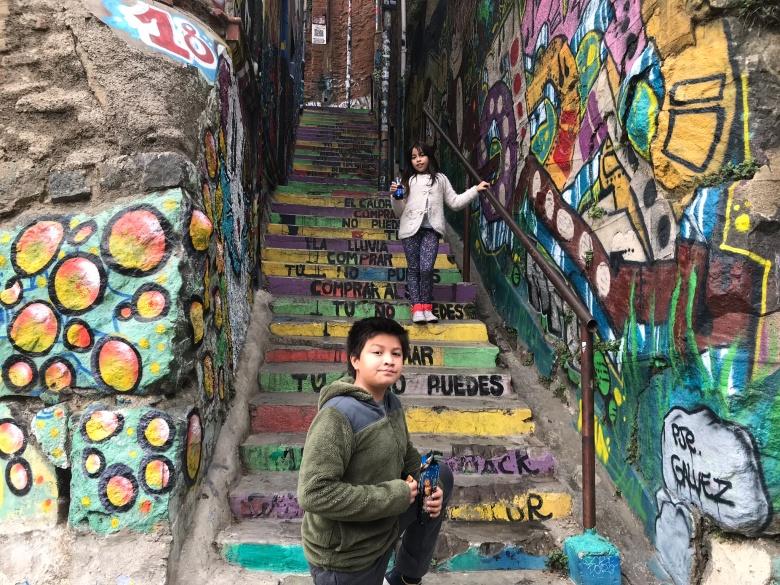 Pasaje Galvez, Valparaíso | Mi Blog de Aventuras | 2018