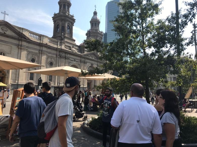 Plaza de Armas de Santiago   Mi blog de aventuras   2018
