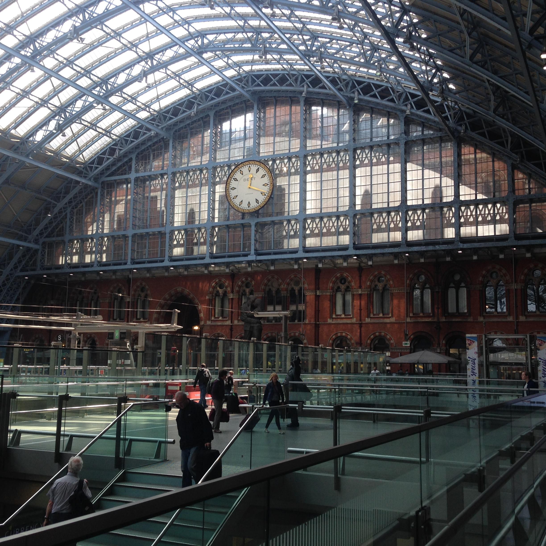 Estación de Trenes St. Pancrass, Londres | Mi blogde aventuras | 2016