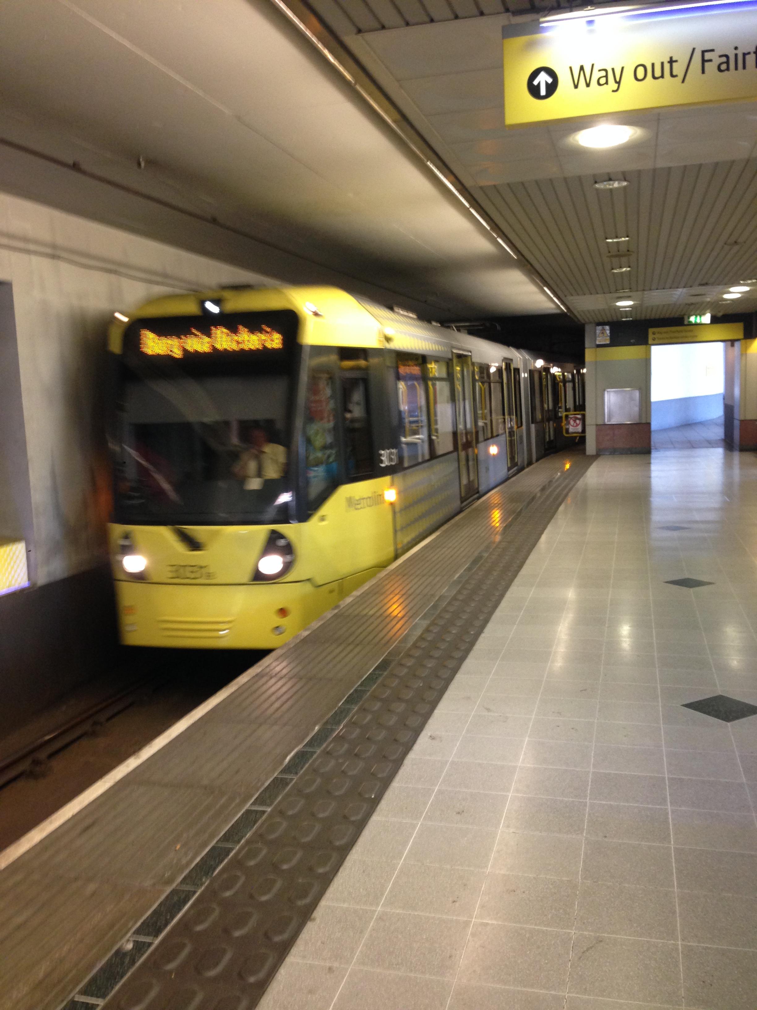 MetroLink, Manchester   Mi blog de aventuras   2016