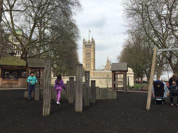 Victoria Towers Gardens, Londres | Mi blog de aventuras | 2017
