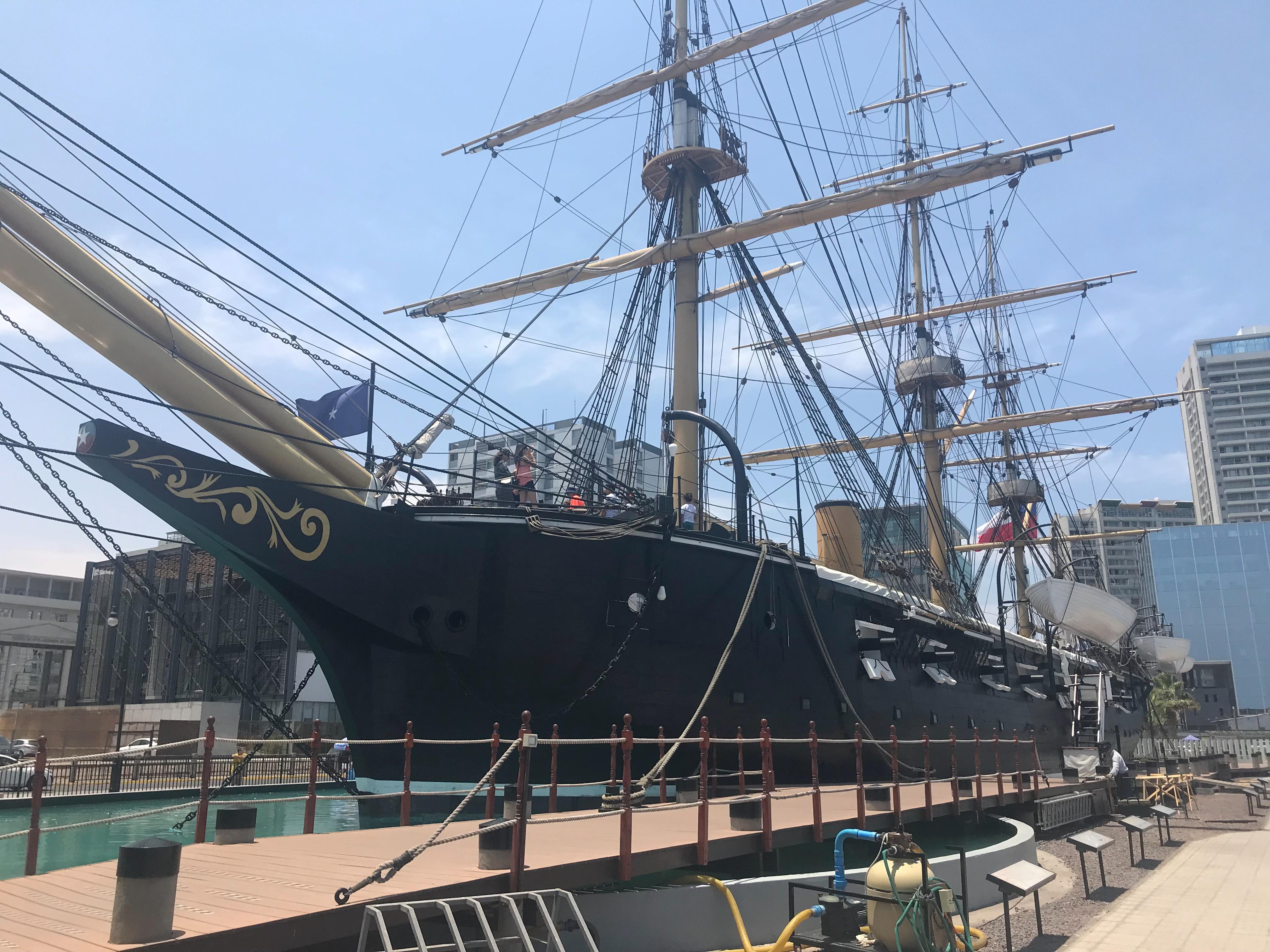 Museo Corbeta Esmeralda | Mi blog de aventuras | 2018