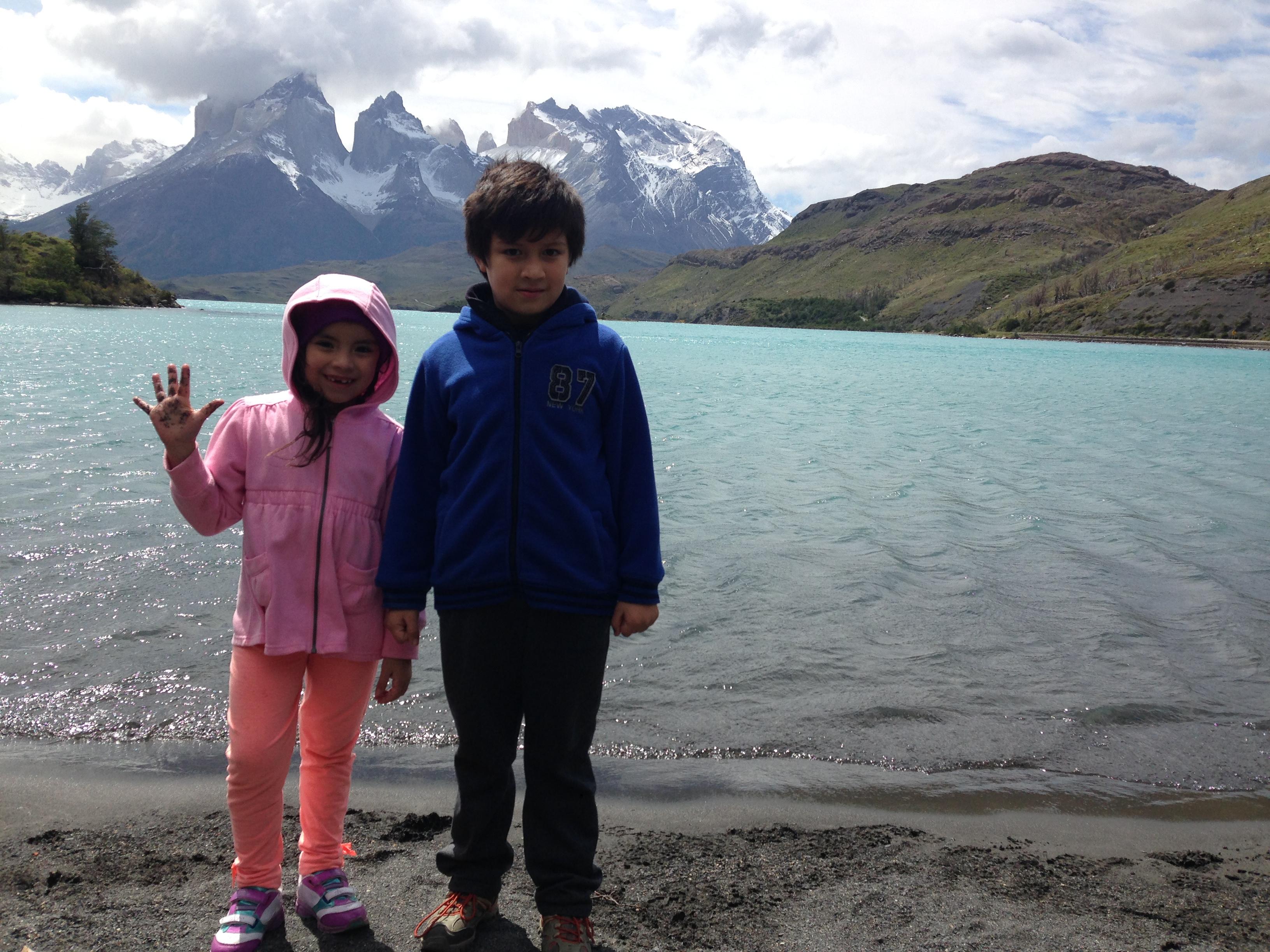 Lago Pehoe Torres del Paine Blog de Viajes con niños Chile