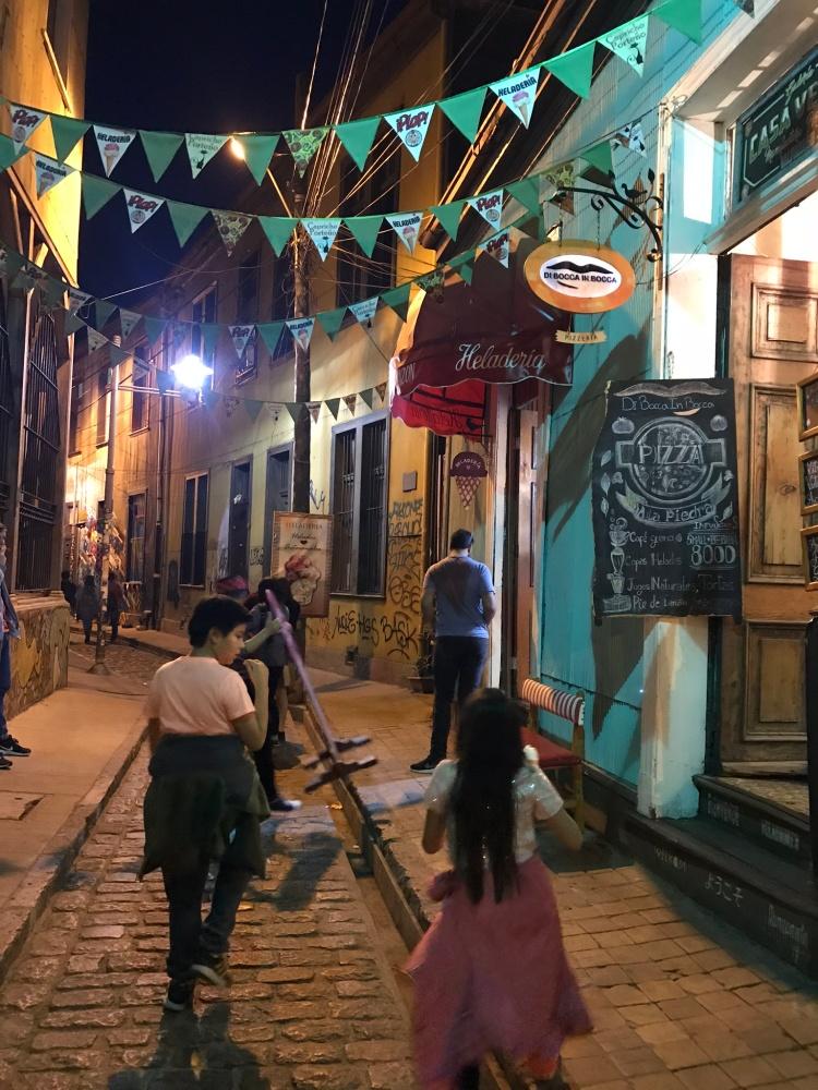 Calle Papudo subiendo por la escalera Fischer | Mi Blog de Aventuras | 2018