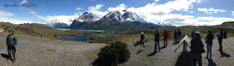 Mirador Lago Sarmiento Torres del Paine Blog de Viajes con niños Chile
