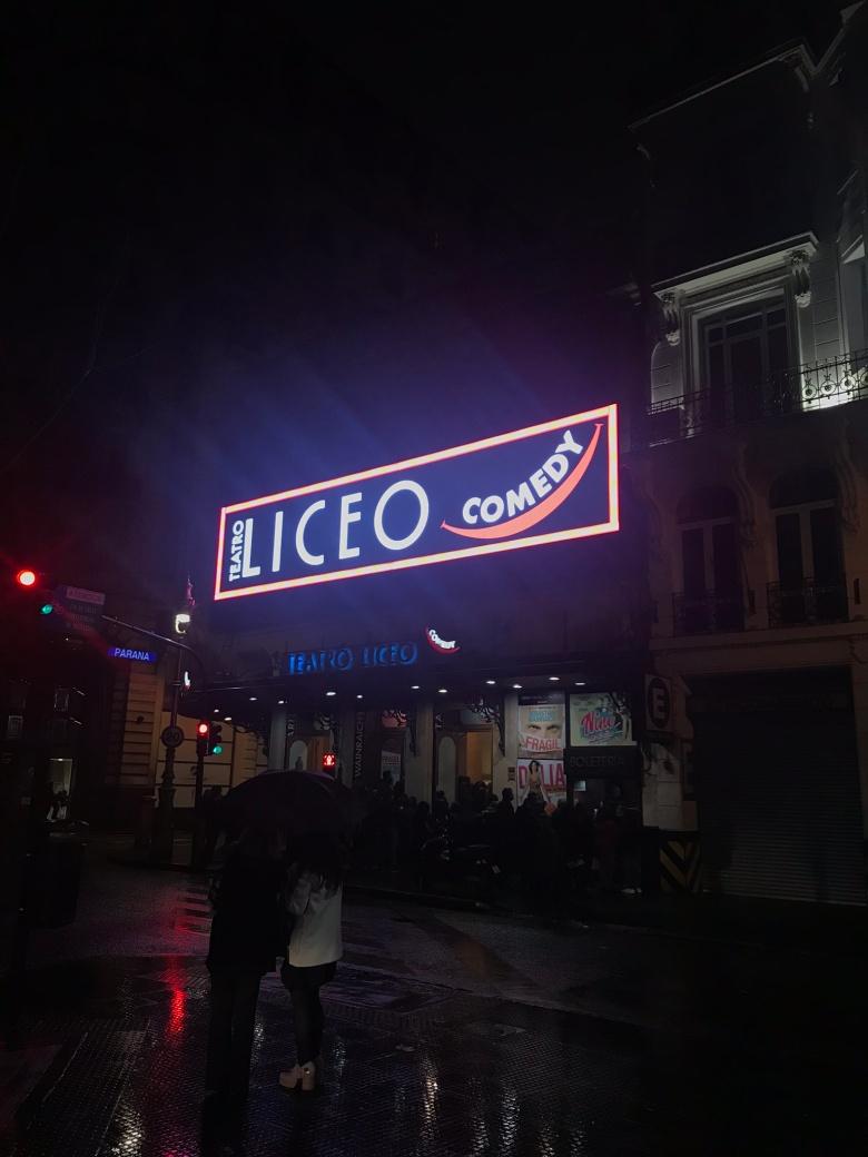 Teatro Liceo Comedy, Buenos Aires | Tips de Viaje | Mi Blog de Aventuras
