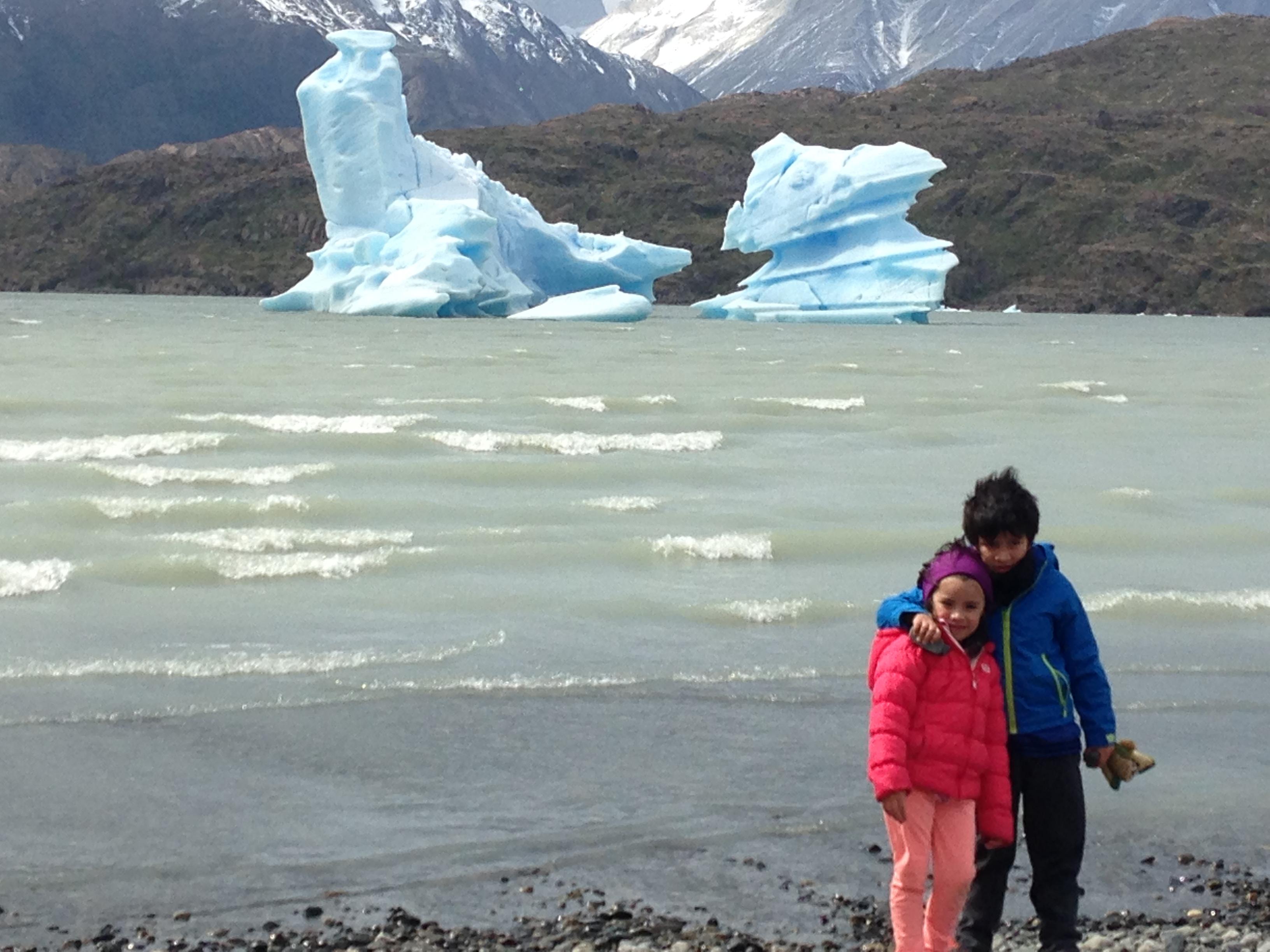 Lago Grey Torres del Paine Blog de Viajes con niños Chile