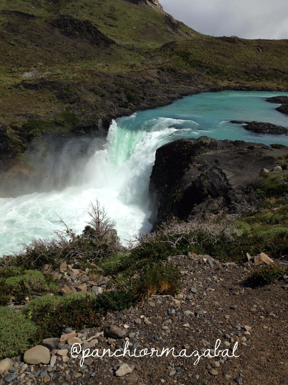 Salto Grande Torres del Paine Blog de Viajes con niños Chile