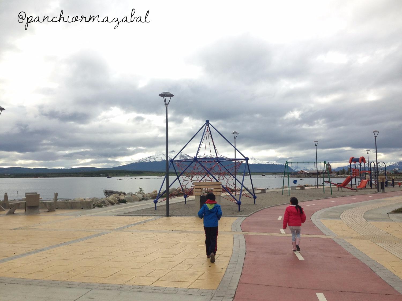 Costanera Puerto Natales Patagonia Chilena Viajar con Niños