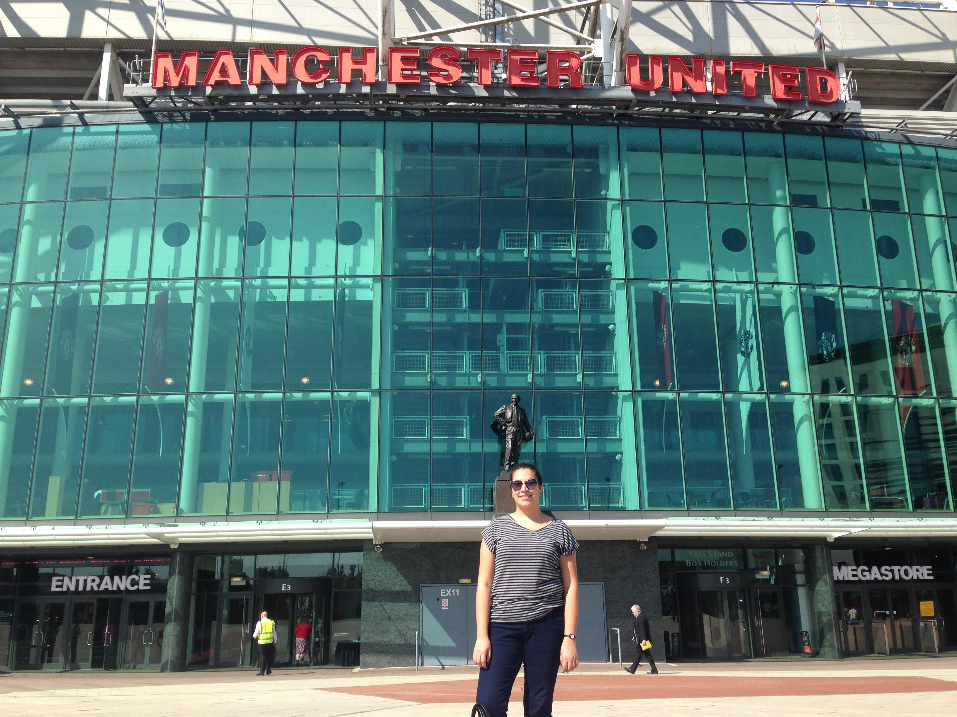 Estadio Old Trafford, Manchester   Mi blog de aventuras   2016