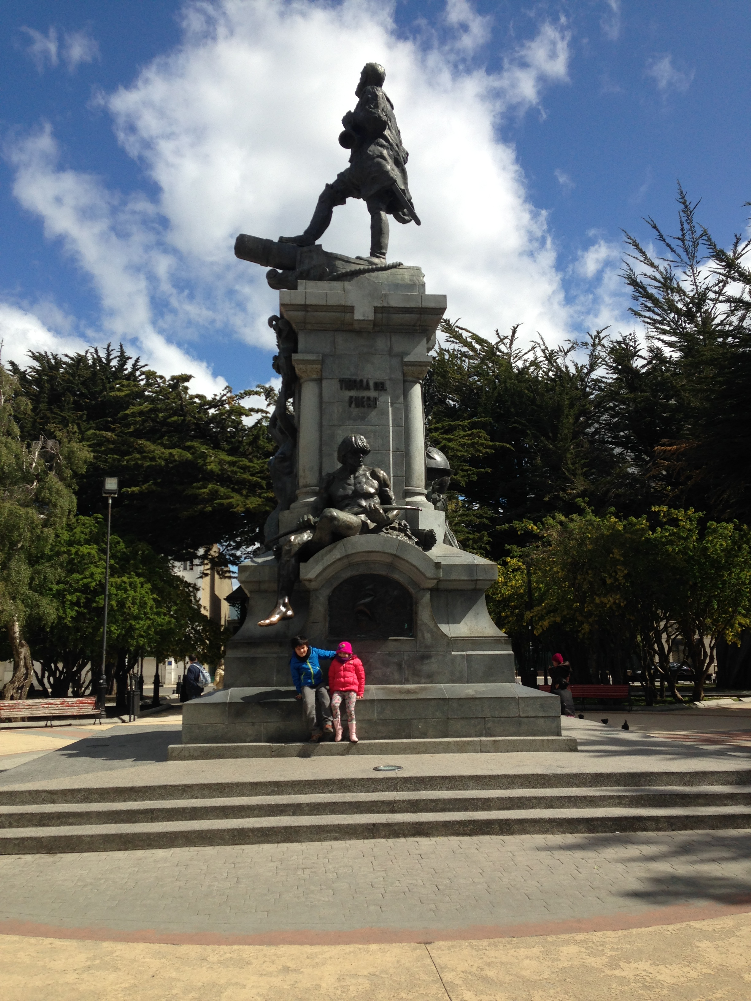 Monumento Indio Patagón, Punta Arenas | Mi blog de aventuras | 2016