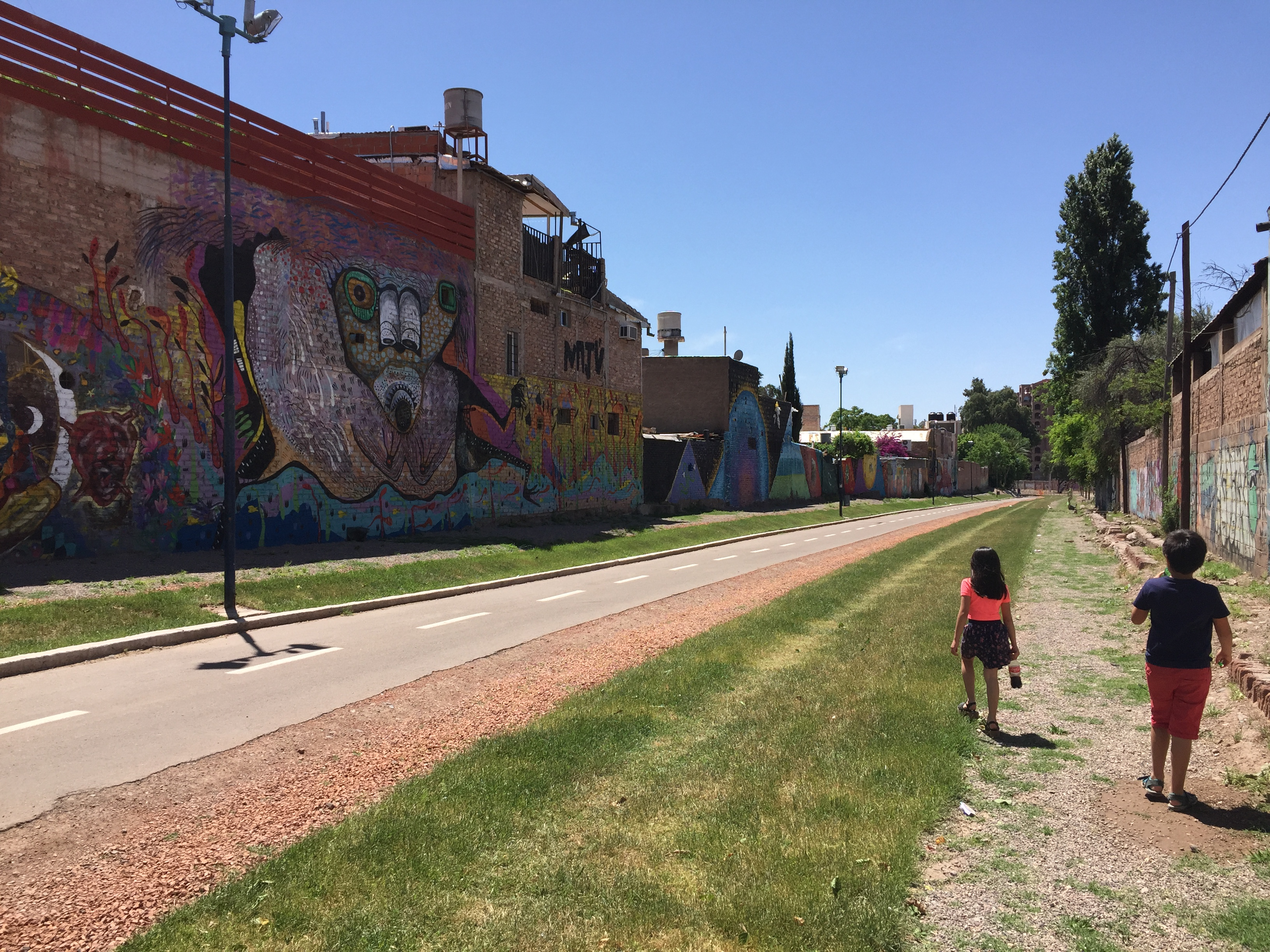 Ciclovía Godoy Cruz, Mendoza | Mi blog de aventuras | 2017