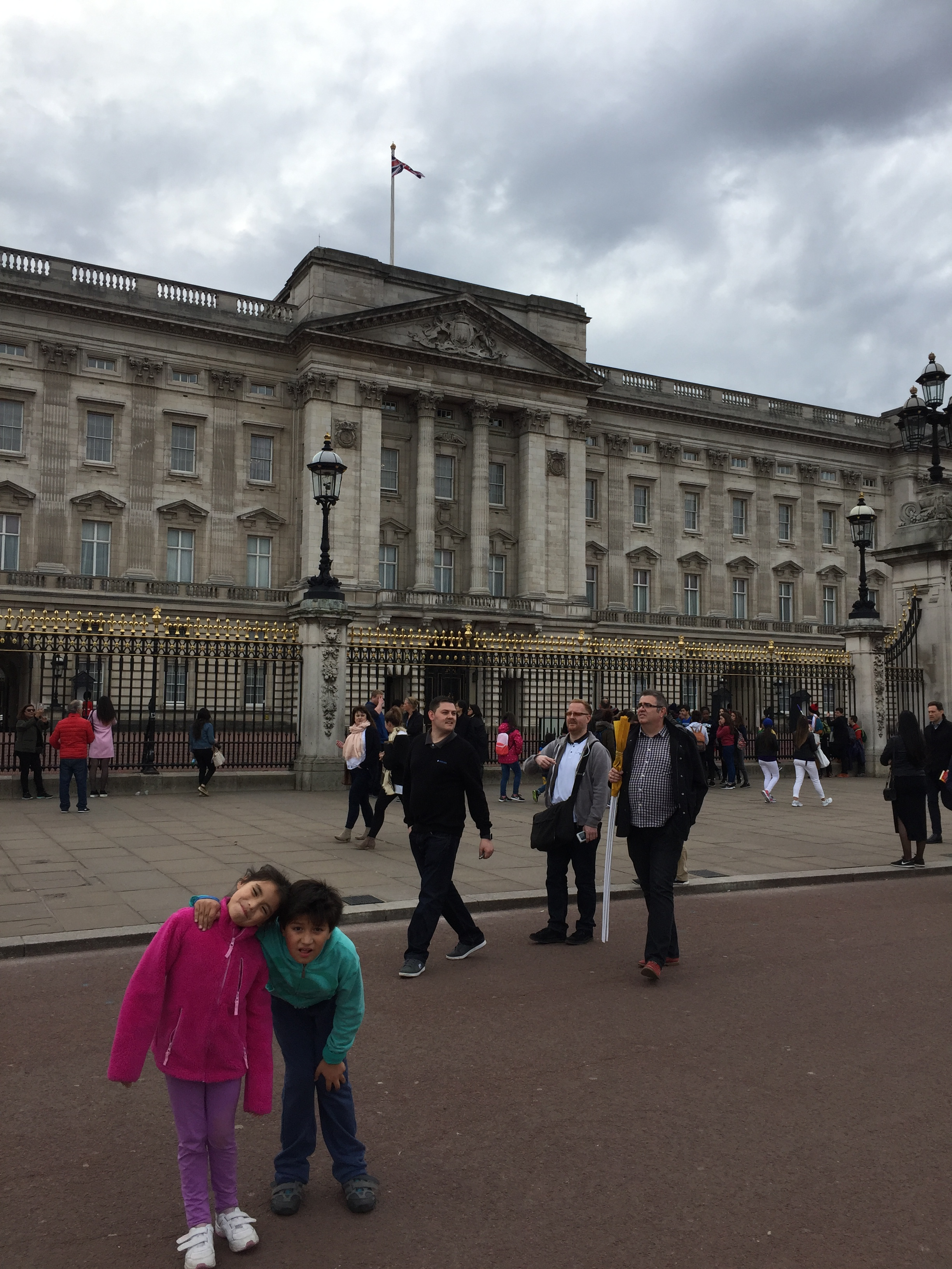 Palacio de Buckingham, Londres | Mi blog de aventuras | 2017