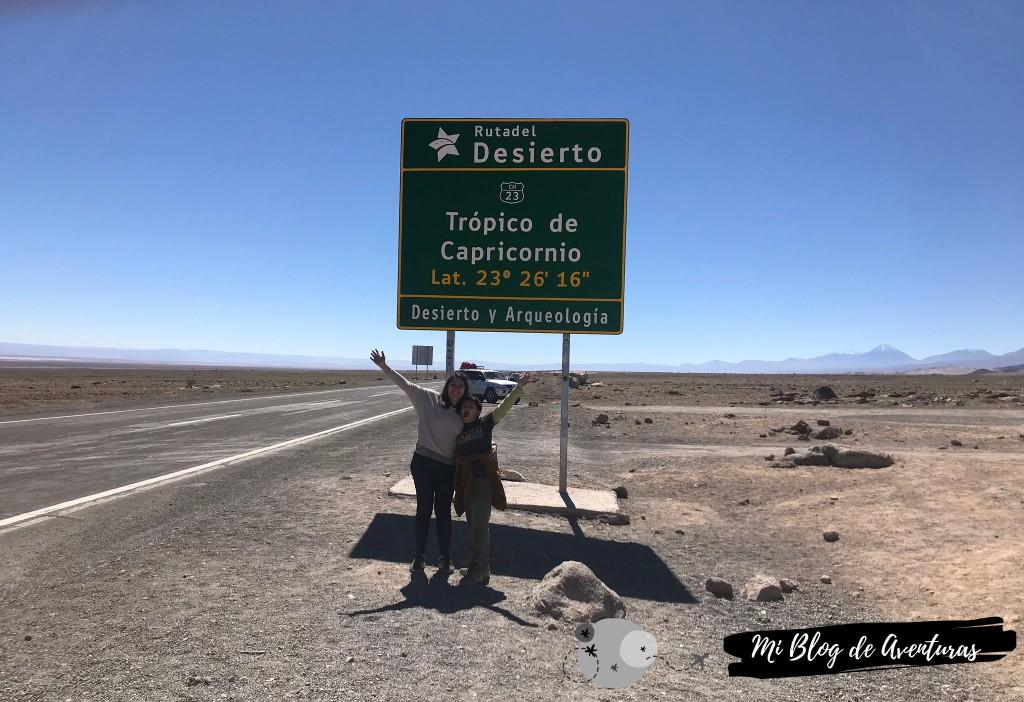 Trópico de Capricornio, San Pedro de Atacama | Mi Blog de Aventuras | 2019