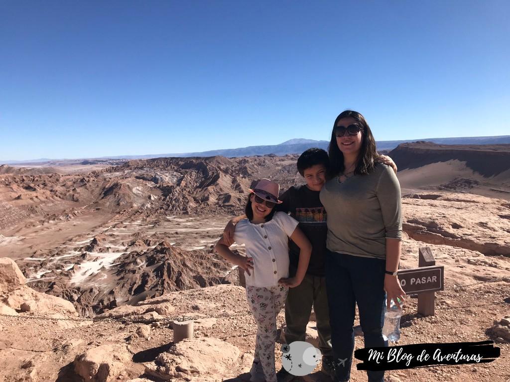 Valle de la Luna Blog de viajes viajar con niños Chile