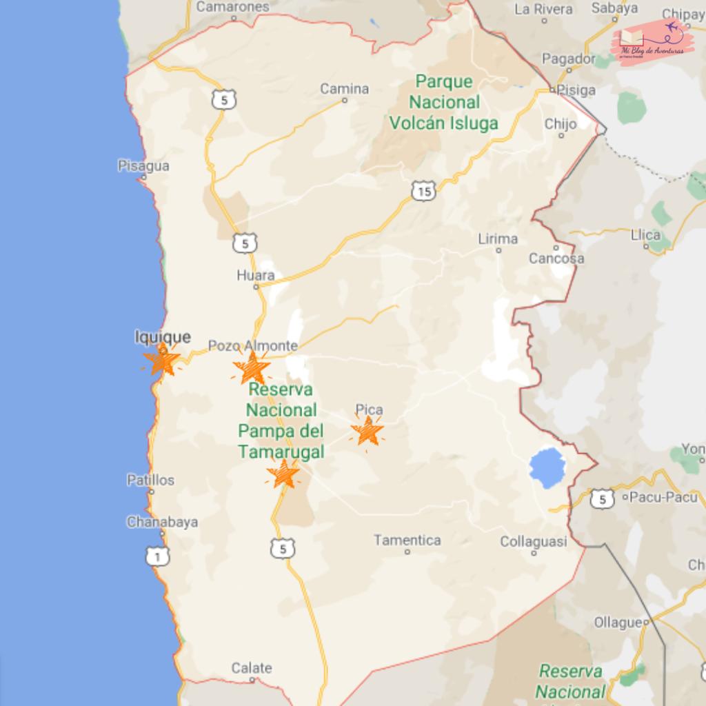 Viajar por la región de Tarapacá Chile