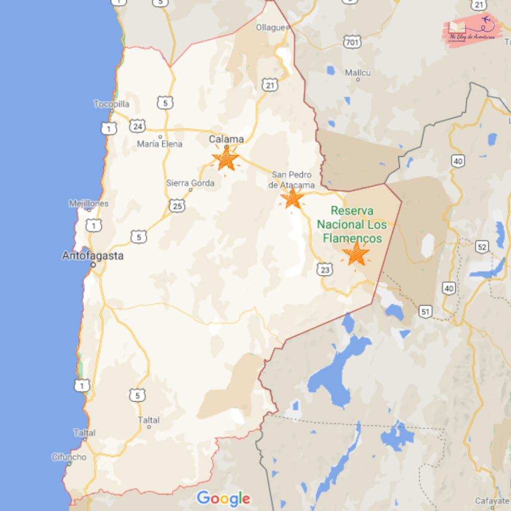 Viajar por la región de Antofagasta Chile